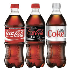 Coke Products 20 oz Bottles