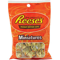 Reeses Peanut Butter Cups Minis - 18 Count