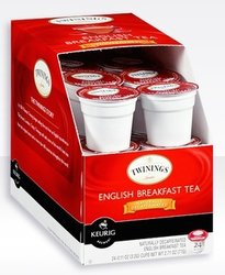 Twinings Tea - DECAF English Breakfast - K-Cups (24 Count)