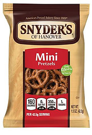 Snyders Mini Pretzel (Fat Free)